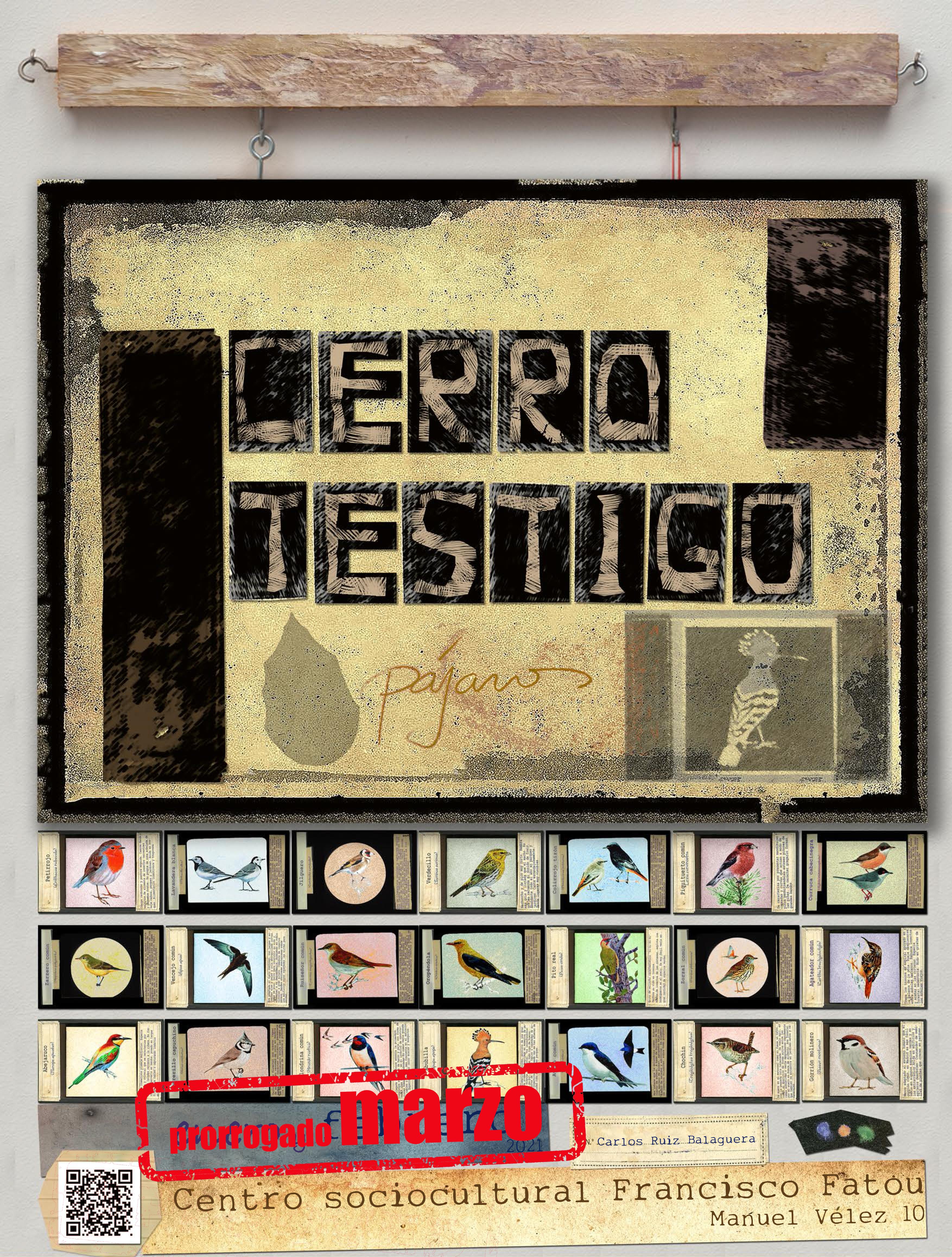 Cartel Cerro Testigo